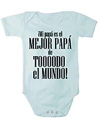 Body mameluco con estampado ¡Mi papà es el MEJOR PAPÁ en diferentes idiomas