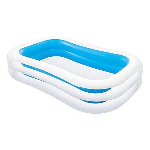 Intex 56483NP - Piscina hinchable rectangular 262 x 175 x 56 cm, 770 litros