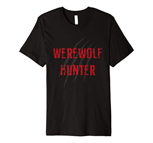 Werwolf Hunter Halloween Kostüm für Mann und Frau