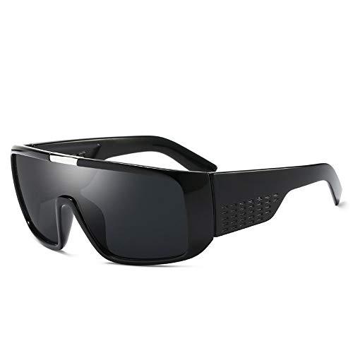 Fahrrad fahren Laufen Angeln Bergsteigen Tasche & Cross Set Sonnenbrille Polarisierte Linse Wellington Pouch & Cross Set Unisex Sonnenbrillen und flacher Spiegel ( Color : Schwarz , Size : Kostenlos )