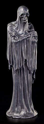Schattenwesen Figur 30 cm | Furchteinflössender Reaper | Gothic Deko Vater Tod Sensenmann Dämon