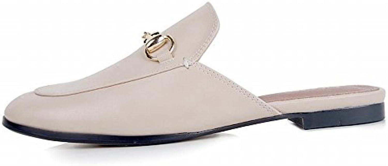 DIDIDD Indossare Scarpe Basse Sandali Pigri Scarpe Muler,Pelle di Bufalo,35 | Prezzo basso  | Uomini/Donna Scarpa