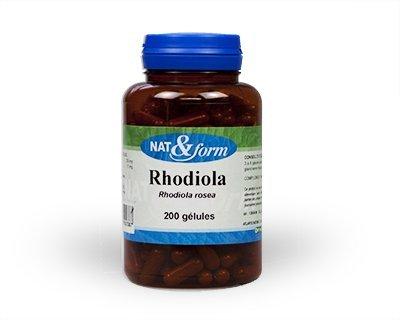 Naturellement rhodiola rosea 200 gélules