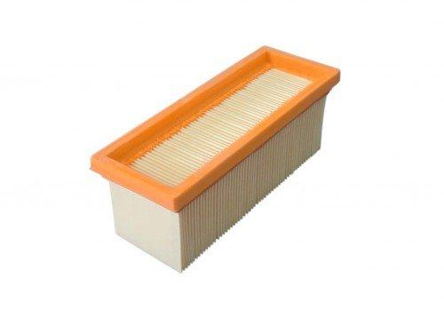 daniplus© Flachfaltenfilter, Lamellenfilter passend für Kärcher 2501, 2601, 2701, 2801, SE2001, SE3001, SE 5.100, SE 6.100, 6.414-498