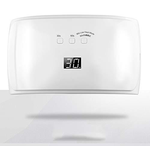 PHNWL-UV 42W LED Lampe for Gel Nail Nagellack Mit 3 Timer LCD Display Infrarot Sensor -