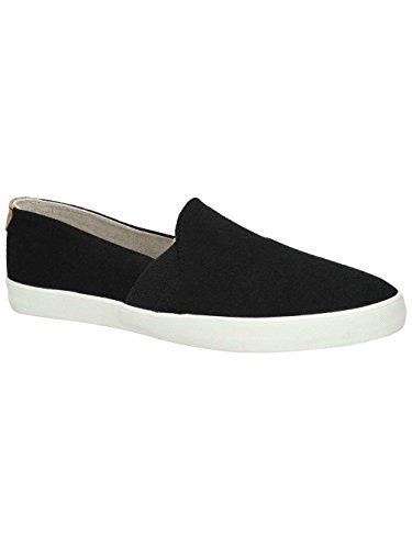 Damen Slip On Roxy Atlanta Slippers Frauen Black