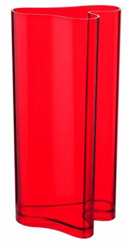 Guzzini Home Vaso da Arredo Portaombrelli 32 x 24,7 x H 60 cm, Rosso