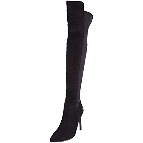BlinkBnew-berniceL - Stivali sopra al ginocchio con fodera calda stile classico Donna