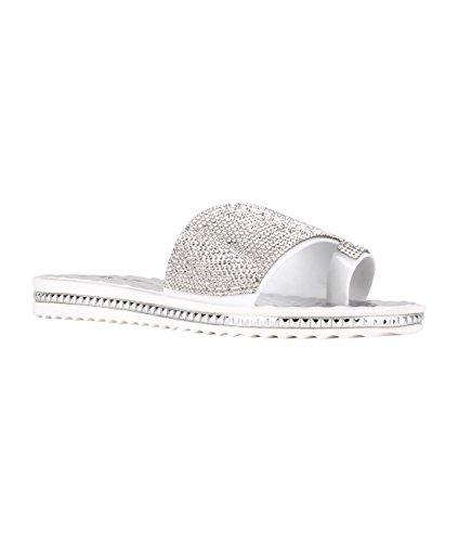 KRISP - Sandali  donna Silver