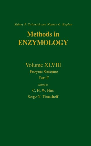 Enzyme Structure, Part F: 048 (Methods in Enzymology)
