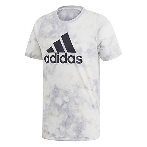 adidas Herren ID Spray Dye T-Shirt, Rawwht, XL - Dye Herren T-shirt