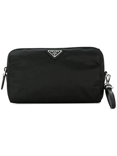 Prada luxury fashion donna 1ne693067f0002 nero beauty case | stagione permanente