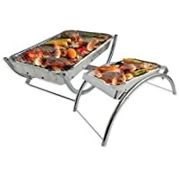 Bar-Be-Quick Dual Reusable Barbecue Stand