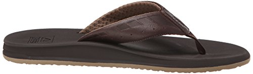 Reef Phantom, Tongs homme Marron (Brown/Dark Brown)