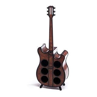 aubaho Wine rack 102cm guitar bottle rack antique style