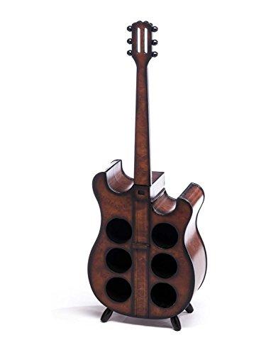 Weinregal 102cm Gitarre Weinständer Flaschenregal Flaschenständer Wein Regal