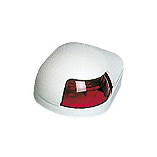 Osculati Kunststoff Navigationslicht, Ausführung:Backbord rot