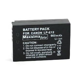 Maxsima - Compatible LP-E12 Batería 900 mAh para Canon EOS M, EOS-M Cámara digital. 12 meses de garantía. (B009ZT1YWK) | Amazon price tracker / tracking, Amazon price history charts, Amazon price watches, Amazon price drop alerts