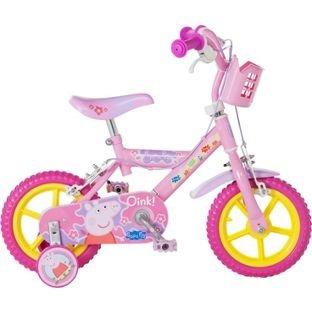 Peppa Pig 12 Inch Bike - Girls'.