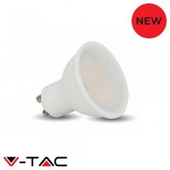 10Pack V-TAC GU10LED de 5W Daylight ninguno regulable lámpara 6400K-400lúmenes 30.000horas de vida-10unidades-1687vt-1975