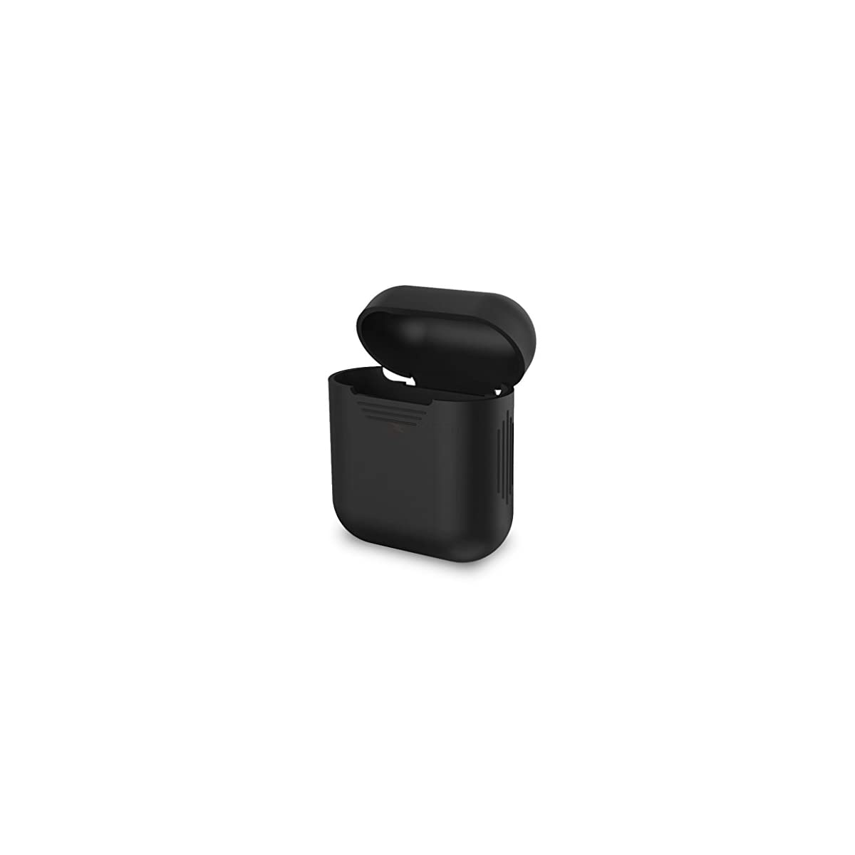 pretty nice 3ec8a 1a45b Maisha Soft Silicon Scratch Protection Cover Case of Wireless Earphones for  Apple Earpods - Black