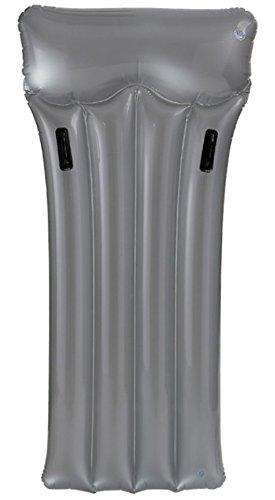 Intex Luftmatratze Deluxe, Silber, 188 x 89 cm