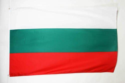 DRAPEAU BULGARIE 150x90cm - DRAPEAU BULGARE 90 x 150 cm - DRAPEAUX - AZ FLAG