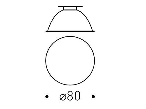 REGGIANI 0.35051.0000 - #IOS REFLECTOR D80 F.S. FOR LED