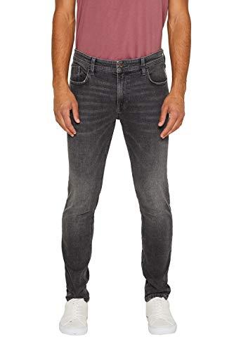 edc by ESPRIT Herren 089Cc2B010 Skinny Jeans, Grau (Grey Medium Wash 922), W36/L32 (Herstellergröße: 36/32)