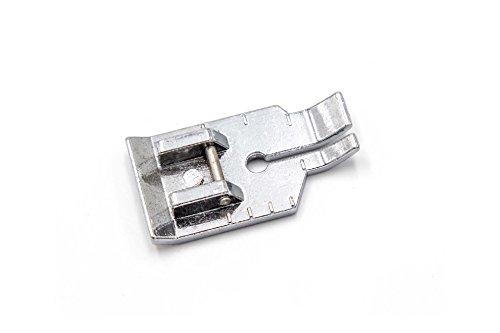 vhbw Nähmaschine Ersatzteil Zubehör 1/4 Inch (6mm) Patchworkfuß für Nähmaschine z.B. von AEG, Brother, Husqvarna, Janome, Juki, Pfaff, Singer, Toyota