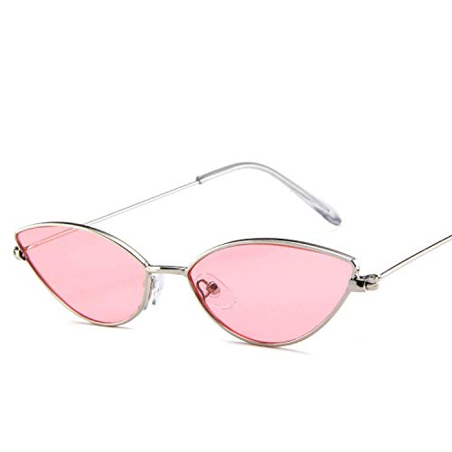 WERERT Sportbrille Sonnenbrillen Cute Sexy Sunglasses Women Retro Small Black Red Pink Sun Glasses Female Vintage For Women