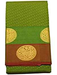 Kanchipuram Vallalar Silks Green saree