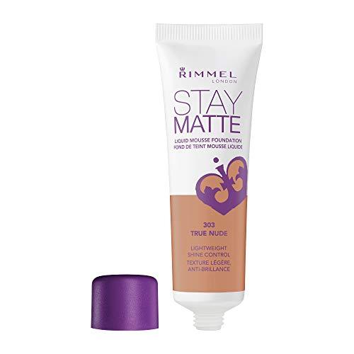 Rimmel London Stay Matte Liquid Mousse Foundation 30 ml - 303 True Nude