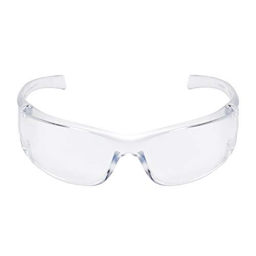 3M VAPCC Virtua AP Schutzbrille für leichte Reparaturarbeiten, gegen Splitter, Antikratzbeschichtung, 99.9% UV-Schutz, Klare Polycarbonatscheiben (Joker-schutzbrillen)
