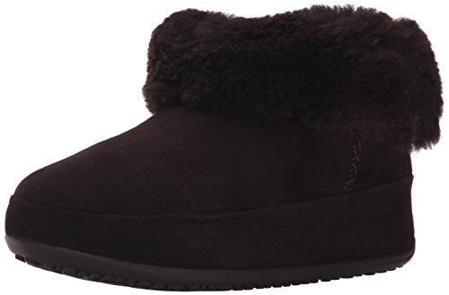 Fitflop Mukluk Shorty - Stivaletti donna, Marrone (Dark Brown), 39 EU (6 UK)
