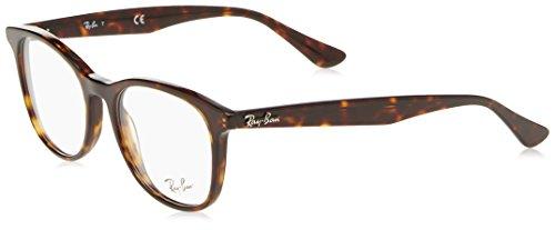 Ray-Ban Unisex-Erwachsene Brillengestell 0rx 5356 2012 52, Braun (Shiny Havana)