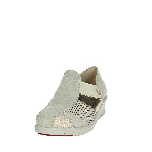 Cinzia Soft 9804 Sneakers Bassa Donna Beige