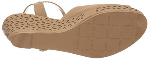 Footin Women's Beige Fashion Sandals - 5 UK/India (38 EU)(7618472)