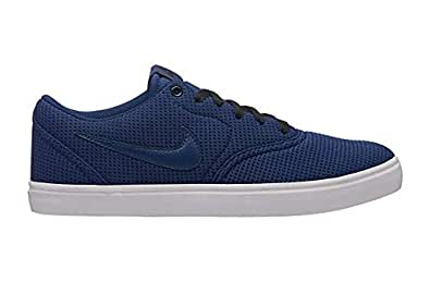 info for 8daa7 bc63f NIKE Men s SB Check Solar CNVS Blue Black Casual Sneakers (843896-402)