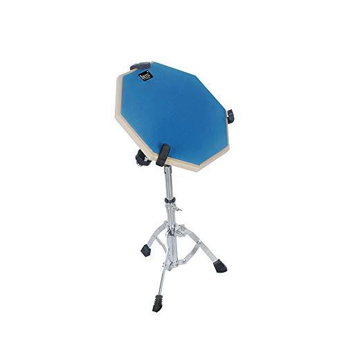 12-Zoll-Drum-Übungsmatte Hit Board-Übungsdämpfer für Anfänger Ruhiges Training Drum Pad - Blau