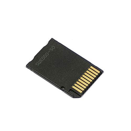 Custodia porta carte di credito da micro sd sdhc tf a memory stick ms pro duo psp adattatore convertitore
