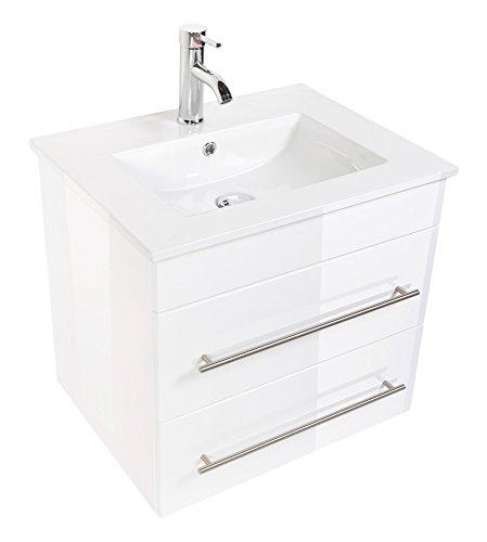 Emotion Meuble salle de bain Milet blanc brillant