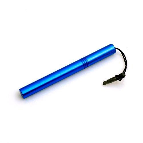 System-S Mini Stylus Touch Pen Bildschirm Eingabe Stift in Blau für LG G-Slate Optimus Pad V900 Optimus 7 GS290 Cookie Fresh