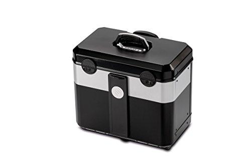 PARAT 2.012.530.981 Evolution Werkzeugkoffer mit genähten Einsteckfächern schwarz/silber (Ohne Inhalt) - 2