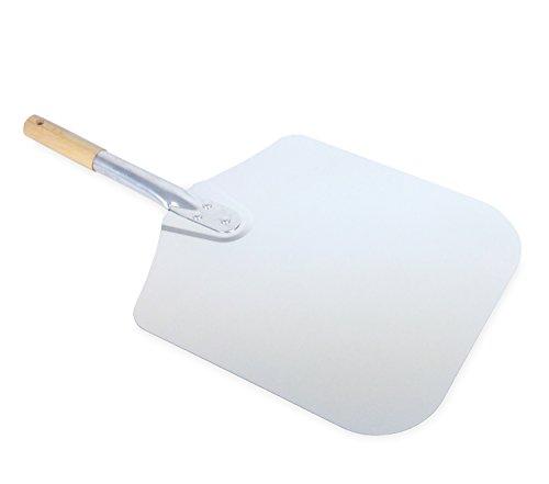 Vesuvo Pizzaschaufel aus Metall - für 30cm Pizza - ideale Länge von 57cm für Innensatz