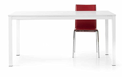 Table Blanc frassinato Metal