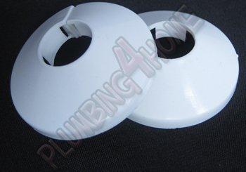 2 pezzi in pvc bianco colletto copertura tubo radiatore rosa 15mm x (Accessori Idraulico Del Pvc)