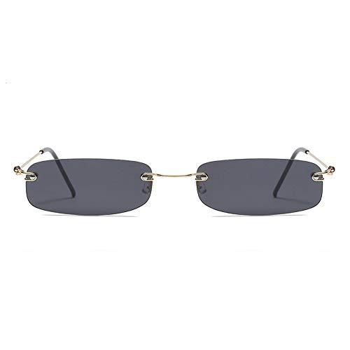 AAMOUSE Sonnenbrillen schmale Sonnenbrille männer Sattel, Sommerrot blau schwarz rechteckig, Sonnenbrille für Frauen kleines Gesicht Sale