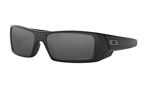 Oakley Herren Gascan 901443 Sonnenbrille, Gold (Matte Black), 60