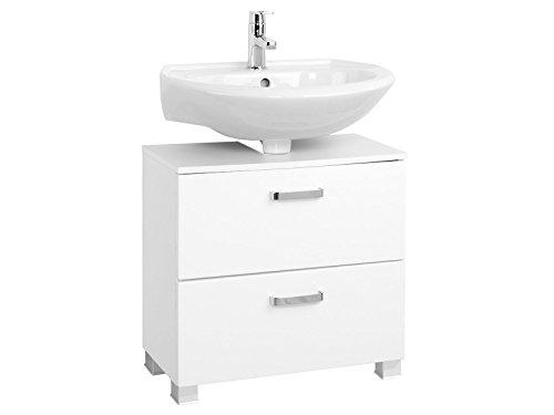 """Waschbeckenunterschrank Unterbeckenschrank Unterschrank Badmöbel """"Bologna II"""" (60 cm)"""